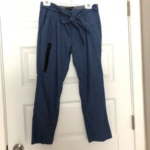 NWT Banana Republic blue pants with belt
